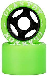 CLAS FOX Outdoor Replacement Skate Wheels Quad Roller Derby Skate Wheels 8 Pcs