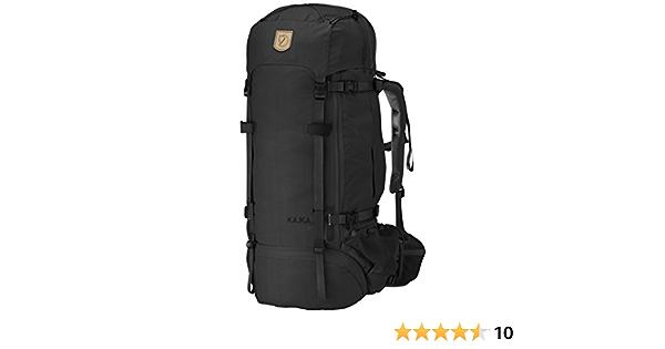 75-Liter Fjallraven Womens Kajka Backpack Black