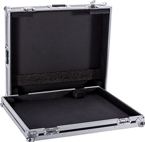 Premium FLIGHT CASE Engineered to Hold One Allen and Heath ZED420 Mixer Complete with Removable Cover including Glued Foam Pieces Strategically Placed to Secure your Mixer DEEJAYLED TBHZED420 (Board Flight Case Pedal)