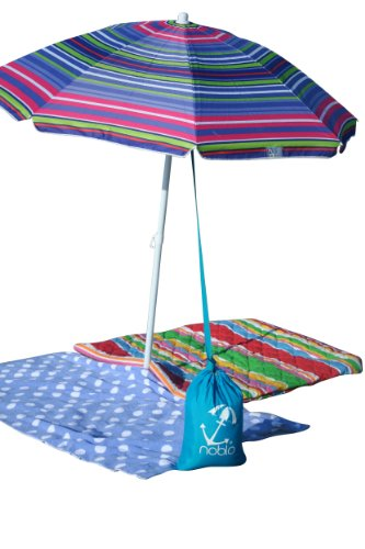 Noblo Umbrella Buddy--Simple Beach Shade Umbrella Anchor (aquamarine)