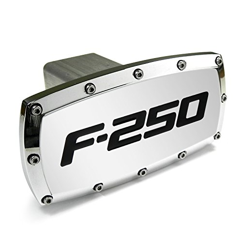 (Ford F-250 Billet Aluminum Tow Hitch Cover)