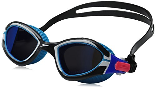 Speedo MDR 2.4 Polarized Goggles, Blue Hawaii, One Size