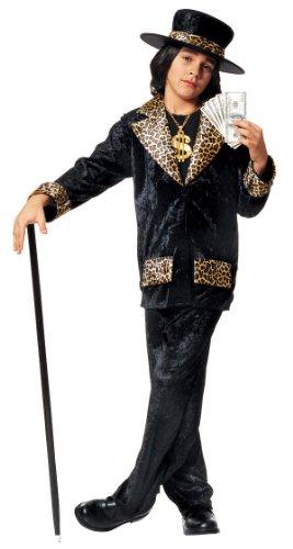 Pimp Daddy Costumes (Kids Mac Daddy Pimp Costume - Child Small)