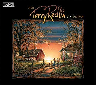BUY ONE 2020 TERRY REDLIN CALENDAR AND GET A FREE YEAR PLANNER AND 4 FREE HANDMADE XMAS CARDS(TWENTY FIVE DOLLAR VALUE)- YOU CAN ALSO ORDER A CALENDAR PLANNER 2019-20