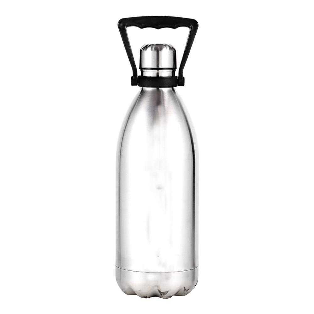 GHMWCY 1500 ml Gran Aislante térmico Botella de Agua diseño ...