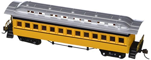 (Bachmann Industries 1860 - 1880 Passenger Cars - Coach - Painted, Unlettered Yellow (HO)