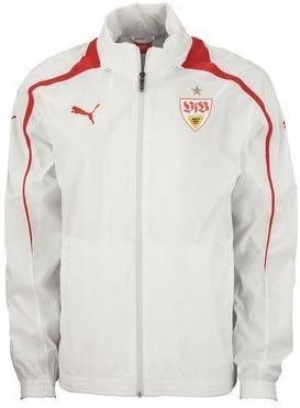 Puma Vfb Stuttgart Rain Jacket Red Red Size Xxl Amazon Co Uk Sports Outdoors