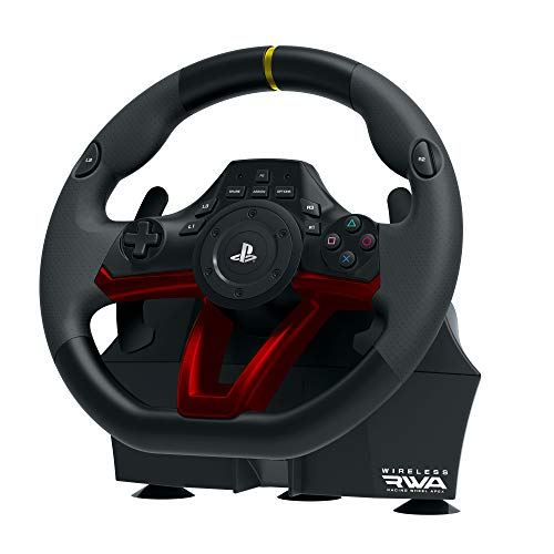Wireless Racing Wheel - HORI PlayStation 4 Wireless Racing Wheel Apex Officially Licensed By Siea - PlayStation 4