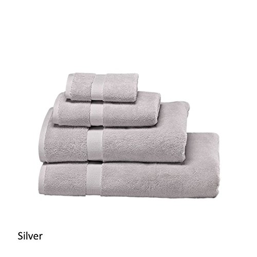 Wamsutta 805 Turkish Cotton Bath Towel Collection (24 Colors) (Silver) by Wamsutta