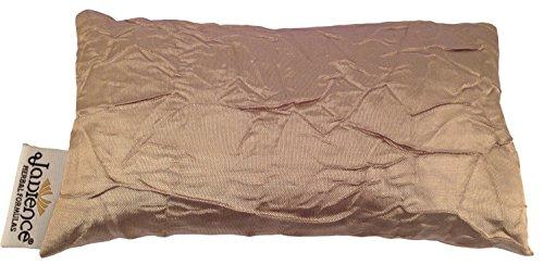 Energy Eye Pillow - Jadience Lavender Eye Mask - GOLD: Soothing Eye Pillow for Stress & Tired Eyes! | Perfect Yoga Eye Bag | Best Eye Mask for Migraines