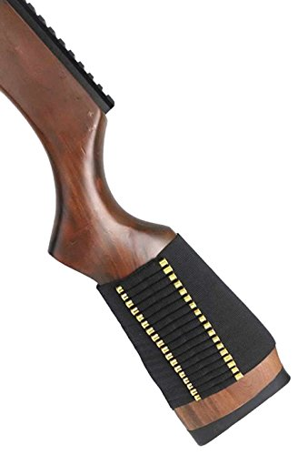Ultimate Arms Gear Tactical 72 Round 0.22 Cal Rifle Ammo Shot Shell Cartridge Hunting Stock Buttstock Slip Over Carrier Holder Fits Henry Lever Action 22 AR-7 (22 Short Ammunition)