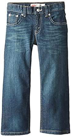 Levi's Boys' 505 Regular Fit Jeans,Cash,2T, 21.5W 14L
