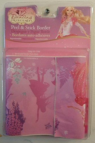 Barbie in the 12 Dancing Princess Room Border, Art Poster