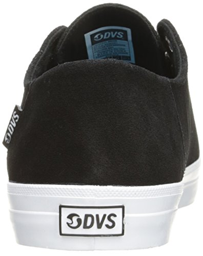 Shoes Edmon Suede Black Homme Schwarz DVS Baskets Black 1TdTq