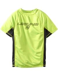 Boys Loose Fit Rashguard Swim & Sun Shirt, Long Sleeve and Short Sleeve, UPF 50+
