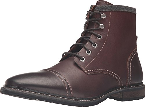 Florsheim Men's Indie Cap Toe Boot,Chestnut Smooth Leather,US 12 D (Chestnut Smooth Footwear)