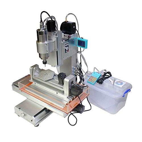 5 Axis 2200W Water Cooling Spindle 5 Axis With ER20 Chuck 3040 CNC Engraving Milling Drilling Carving Machine Router (4th And 5th Axis Cnc Rotary Table)