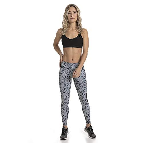 Top Medium Strappy Heather Lux Yogini Puma Crop Grigio HPgIwx