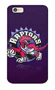 Stylishgojkqt Iphone 6 Well-designed Hard Case Cover Minimalistic Dinosaurs Sports Purple Nba Basketball Toronto Raptors Protector For New Year's Gift