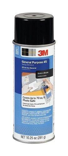 General Purpose Spray Adhesive (3M General Purpose 45 Spray Adhesive, 10-1/4-Ounce)