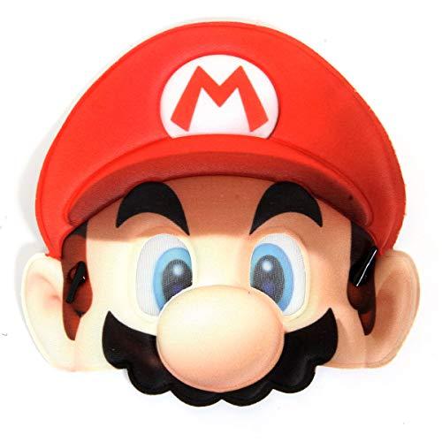 Mascara Mario Sulamericana Fantasias Vermelho
