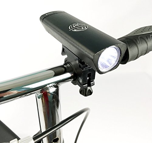 New KneeRover Deluxe Super Bright LED Safety Headlight with Batteries for Knee Walkers Knee Scooters Rollators by KneeRover (Image #8)
