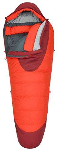 Kelty Mummy Sleeping Bag - Kelty Cosmic 0 Degree Sleeping Bag, Long, Fiery Red/Garnet