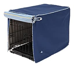 Crate Covers and More Sailors Blue with Sierra Blue on Blue Cording Stagecoach, Single Door