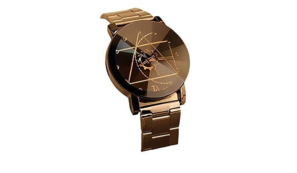 Amazon.com: Luxury Gofuly 2017 New Watch Fashion Stainless Steel Watch For Man Quartz Analog Wrist Watch: Clothing