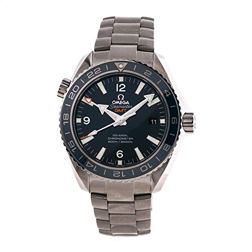 Omega Titanium Bracelet - Omega Seamaster Mechanical (Automatic) Blue Dial Mens Watch 232.90.44.22.03.001 (Certified Pre-Owned)