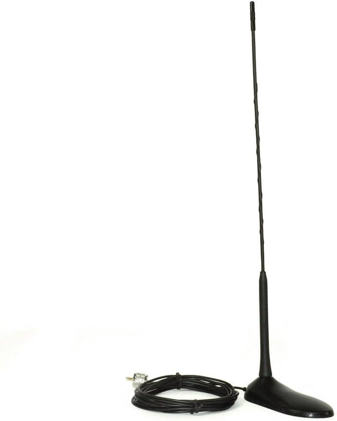 CB Antena PNI Extra 45 SWR 1,0 soporte magnético incluidos, 45 cm de alto, 4 m cable RG174