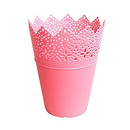 Buy New Simple Home Vases Floral Hollow Design Flower Vase Solid