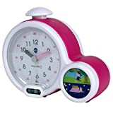 Claessens' Kids Kid'Sleep My First Alarm Clock and Sleep Trainer, Pink