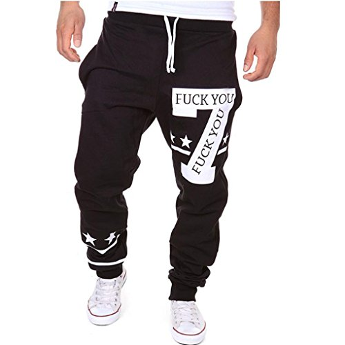 GBSELL-New-Men-Big-7-Letters-Casual-Pants-Sport-Pants-Stars-Trousers-Haren
