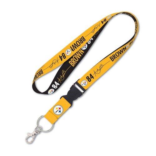Steelers Buckle (PITTSBURGH STEELERS Lanyard w/detachable buckle 1