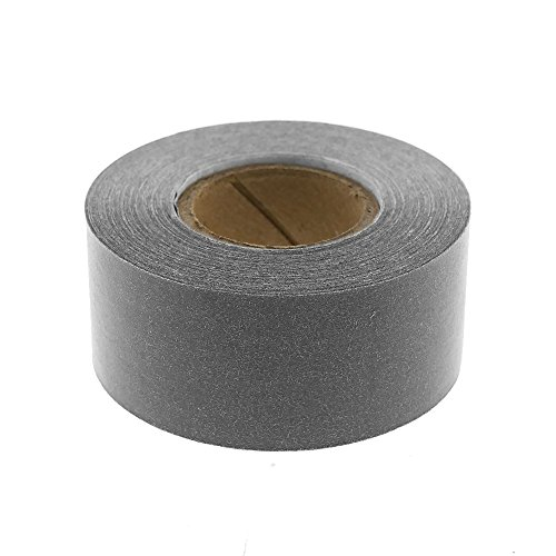 "1"" Gray Color-Code, Clean-Remove Labeling Tape, Write On Surface 