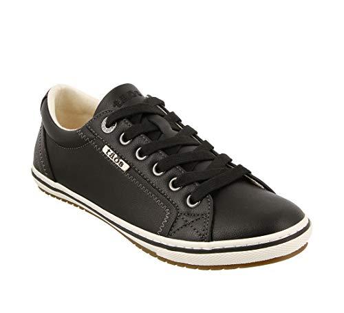 - Taos Footwear Women's Retro Star Black Sneaker 11 M US