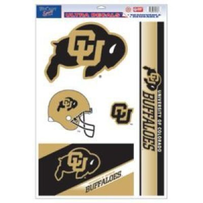 WinCraft Colorado Buffaloes Ultra Decal - 11'' X 17''