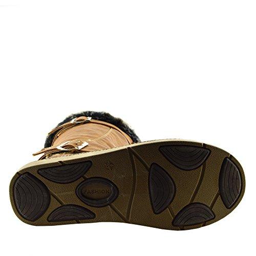 Kick Footwear Zapatos de cordones de Material Sintético para mujer marrón