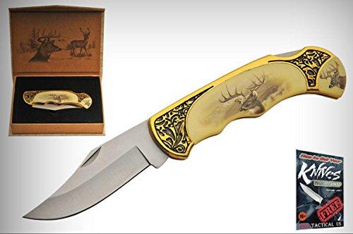 Pocket Elite Folding Knife Stainless Blade 4.75