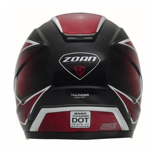 Amazon.es: Zoan Thunder Electra gráfico rojo eléctrico lente nieve casco de equitación Youth Medium