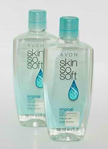 Lot of 2 Avon Skin So Soft SSS Original Bath Oil 16.9 oz ea New & Sealed!