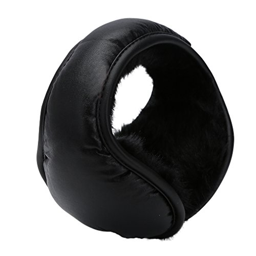 Warmers Leather Outdoor Foldable Earmuff
