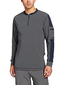 Zoic Men's Highland Long Sleeve Cycling Jersey, Castle, Large