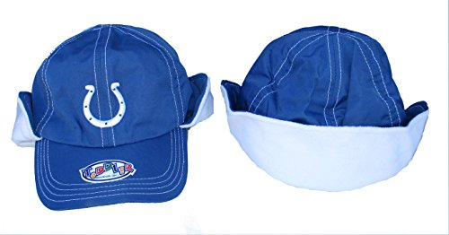 (Indianapolis Colts Toddler One Size Fits All NFL Authentic Fleece Hat Cap)
