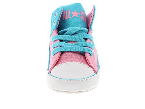 Converse Babyschuhe First Star 856127C Fresh Cyan Pink Mehrfarbig (Black/Soar/White Black/Soar/White)