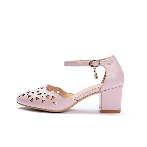 pink Rosa Donna Eu 35 Con Balamasa Zeppa Sandali 8HHq4