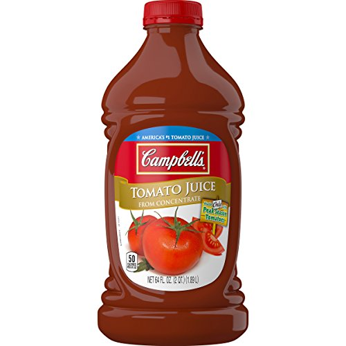 Campbell's Tomato Juice, 64 oz. Bottle (Pack of 6)
