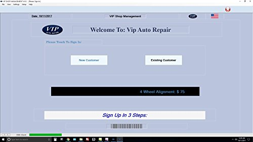 Amazoncom Invoice Software For Auto Repair Shops Vip Shop Management - Auto repair invoice software free download online bridal store