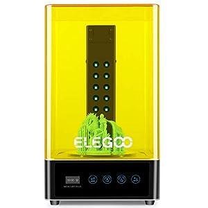 ELEGOO Mercury Plus Máquina de Lavado y Curado 2 en 1 para LCD/DLP/SLA Modelos Impresos en 3D Caja de Curado UV de…
